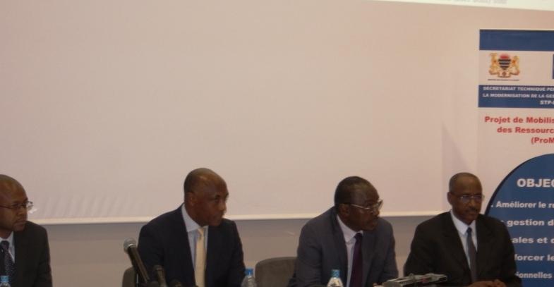 Economie : le ministère des Finances lance un Projet de mobilisation et gestion des ressources intérieures