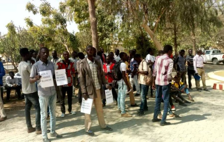 Education : les étudiants de l'université de N'Djamena protestent contre le redoublement automatique