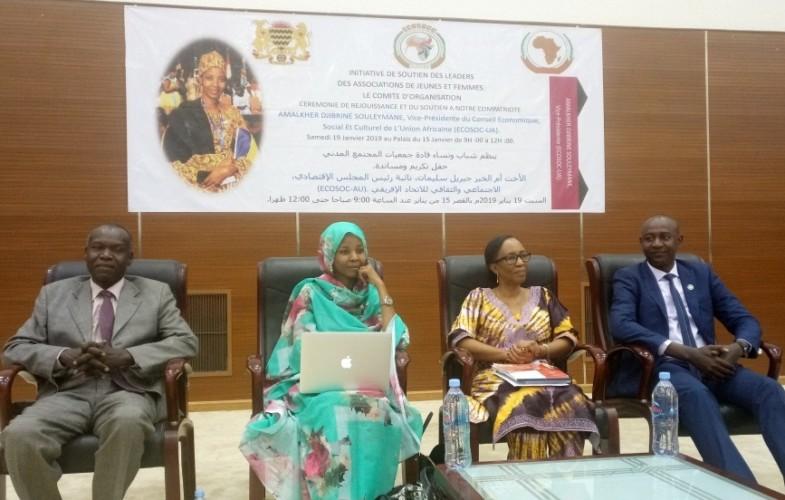 Iyalat : Une cérémonie de réjouissance pour féliciter la nouvelle vice-présidente de l'ECOSOC-UA