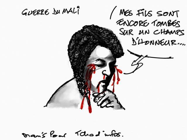 Tchad : trois jours de deuil national pour l'ambassadeur Mahamat Saleh Djérou et les 10 casques bleus