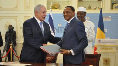 Diplomatie : le Tchad et Israël rétablissent leurs relations diplomatiques