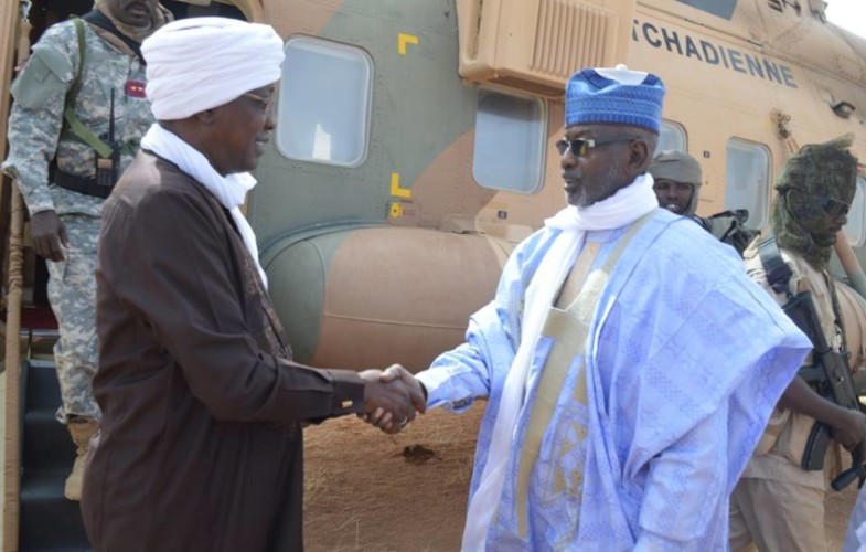 Politique : visite du président Deby dans la province de l'Ennedi Ouest