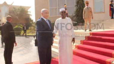 Coopération : Arrivée de Benjamin Netanyahou au Tchad