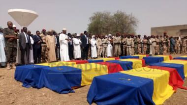 Tchad : Cérémonie d'hommage aux soldats tchadiens tombés au Mali