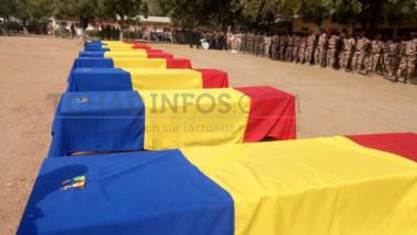 Tchad: voici la liste des 10 casques bleus tombés au Mali