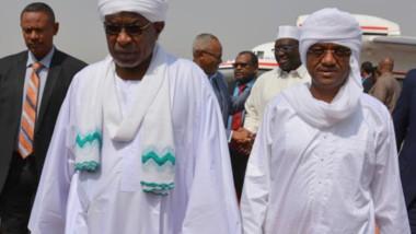 Le président soudanais dépêche son vice-président au Tchad