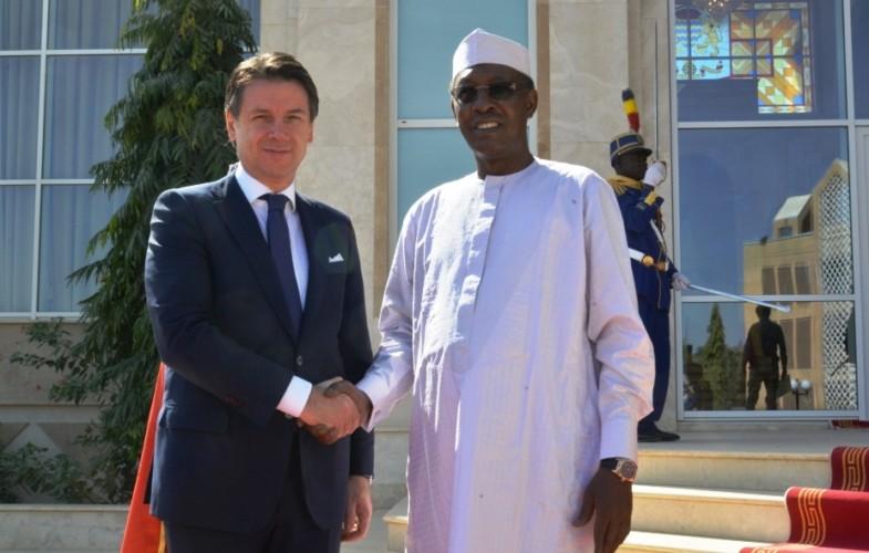 Coopération : « le Tchad a un rôle stratégique pour les intérêts aussi bien de l'Italie que de l'U.E », Guisepe Conte