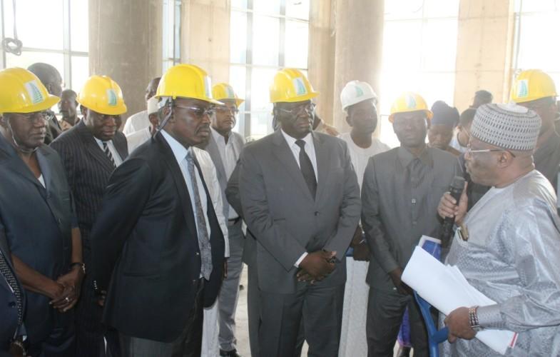 Tchad: visite d'évaluation des travaux de construction des sièges des Douanes et de la TPG
