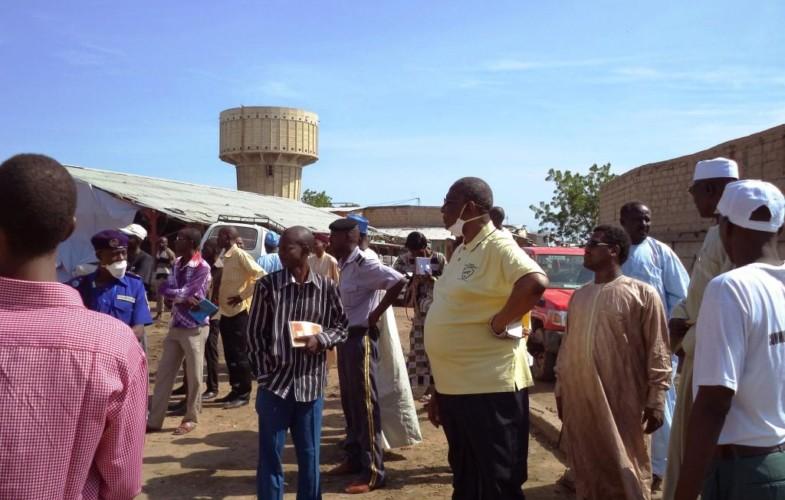 Tchad: le projet de reconstruction du marché à mil de N'Djamena est abandonné