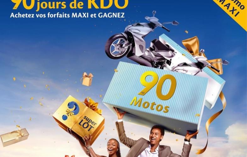 Téléphonie : Tigo lance la «  PROMO MAXI – 90 jours de KDO »