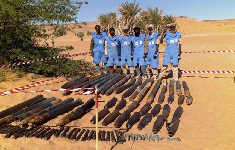 Tchad: 400 000 mètres carrés de terre déminés dans le Nord