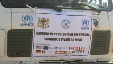 Tchad : 320 réfugiés soudanais prêts à être rapatriés au Soudan