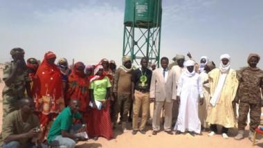 Tchad : Oxfam octroie un château d'eau à la population de Daboua au Lac