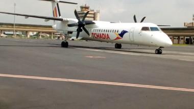 Tchadia Airlines a effectué son vol inaugural à Douala