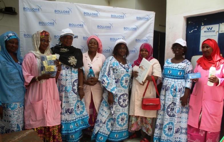 Tchad: le personnel féminin de Bolloré assiste l'hôpital de Hilé Houdjaj