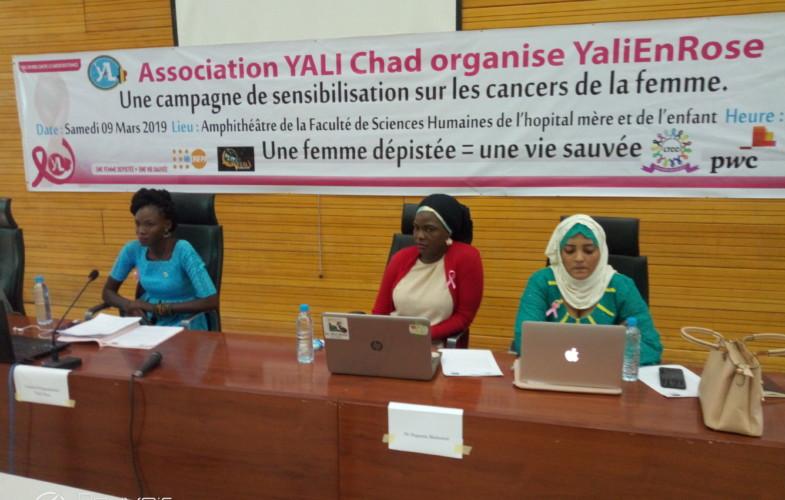 """Tchad : """"Yali en Rose"""", une initiative pour lutter contre le cancer chez la femme"""