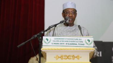 """Pour Déby, """"le Safagri constitue une vitrine de promotion de l'intégration africaine"""""""