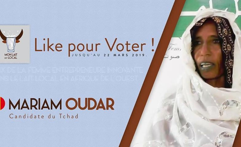 Lait local : la Tchadienne Mariam Oudar en lice pour le « Prix de la femme entrepreneure innovante »