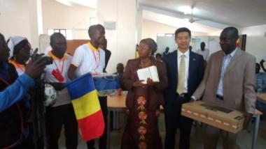 Coopération: l'ambassade de la Chine fait un don à l'université de Moundou