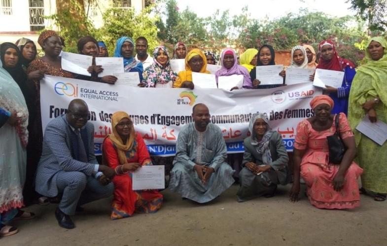 Projet Voix de Paix : des leaders féminins formés pour la construction de la paix au Tchad
