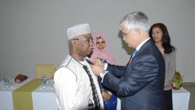 COOPERATION : le diplomate tchadien Hissein Brahim Taha élevé à l'Ordre national de la Légion d'honneur