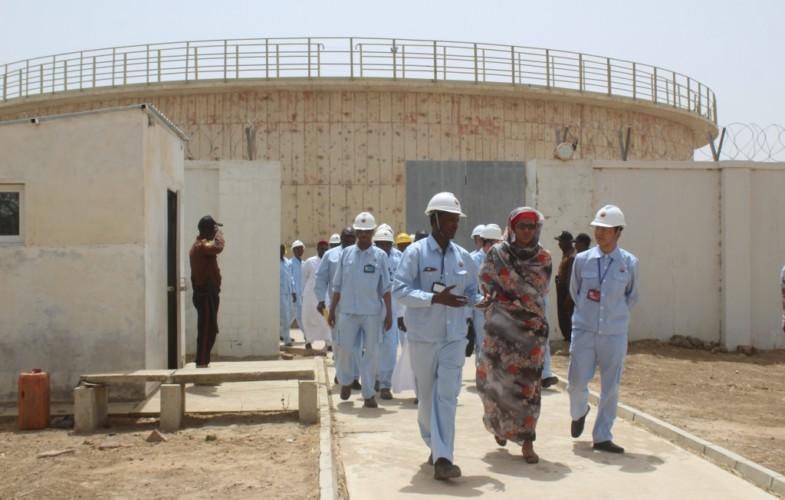 Tchad : la station de pompage des eaux de la société de raffinage de N'Djamena désormais pilotée par des Tchadiens