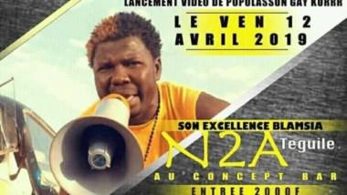 Tchad : N2A Téguile sort enfin le clip de « Populasson gay korr »