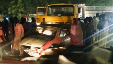 Fait divers : un taxi et un gros porteur entrent en collision à N'Djamena