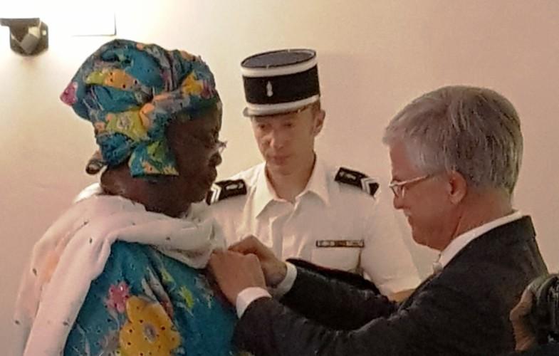 Tchad : Mme Ngarmbatina Carmel Sou IV parmi les rares Tchadiens Légion d'Honneur de la France