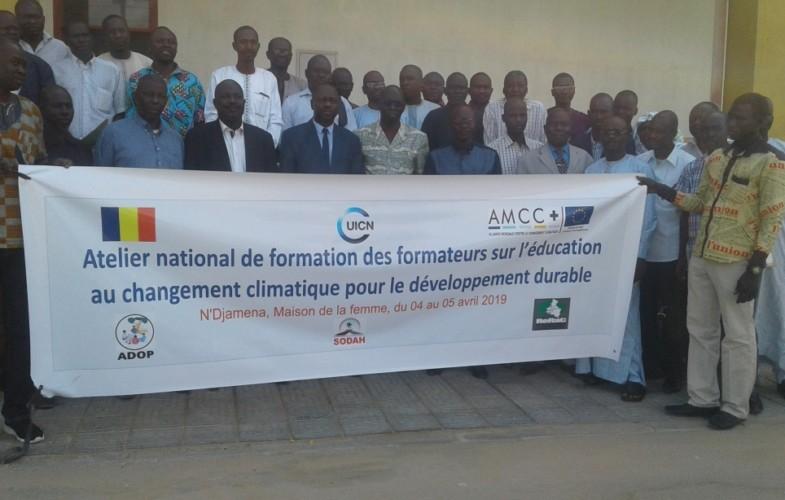 Environnement : l'UICN booste les capacités des enseignants dans la lutte contre le changement climatique