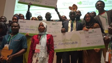 Prix de l'Innovation verte : les Saveurs du Sahel primé meilleur projet du hackaton vert