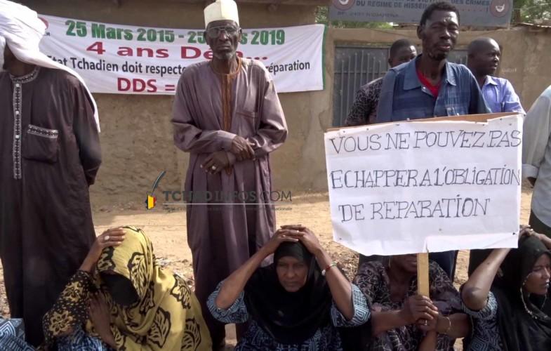 VIDEO. Les cris des victimes du régime de Hissein Habré