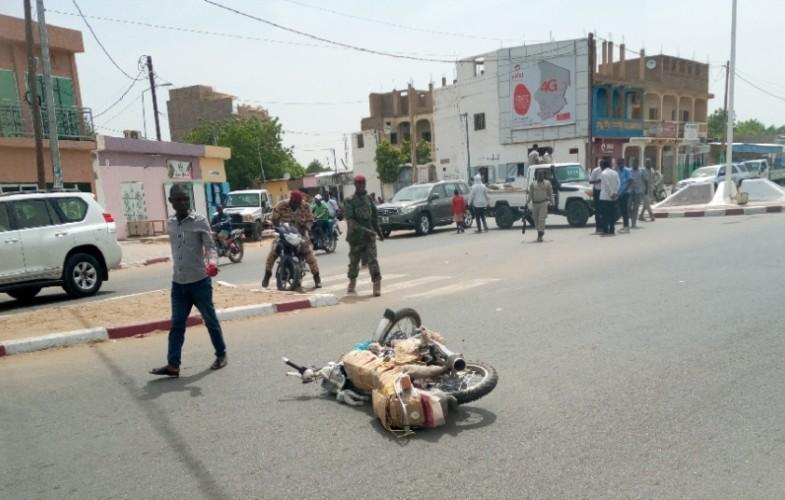 Tchad: un motocycliste percuté par le véhicule de la police à N'Djamena