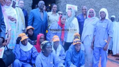 Projet SWEED : la vice-présidente de la Banque mondiale apprécie les impacts à Mani
