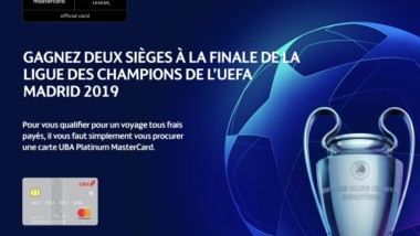 Champions League : UBA-Mastercard offrent des voyages tous frais payés pour les demi-finales et la finale