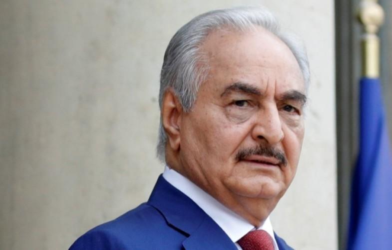 Libye : À l'Élysée, Haftar affirme que les conditions d'un cessez-le-feu ne sont pas réunies