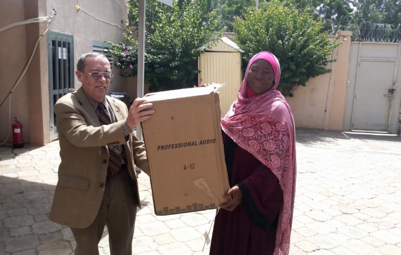Tchad : Equal Access appuie les radios partenaires en matériels sonores