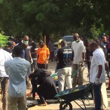 Tchad : le HCR donne un coup de balai à l'hôpital Notre Dame des apôtres