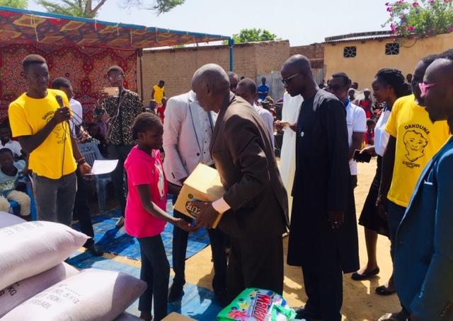 Tchad : Humanus fait un don au centre Dakouna Espoir