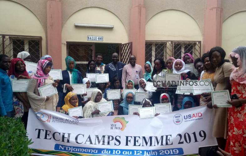 Tchad: 30 femmes formées en plaidoyer et engagement citoyen reçoivent leurs attestions