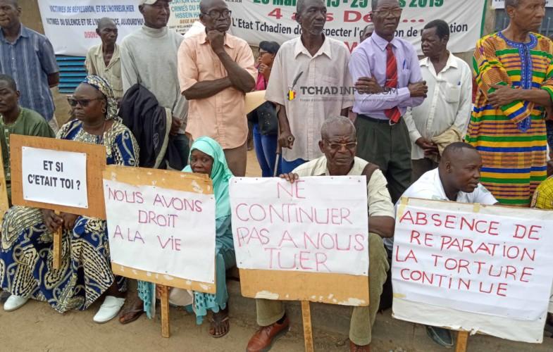 Tchad : énième sit-in des victimes des crimes du régime d'Hissein Habré