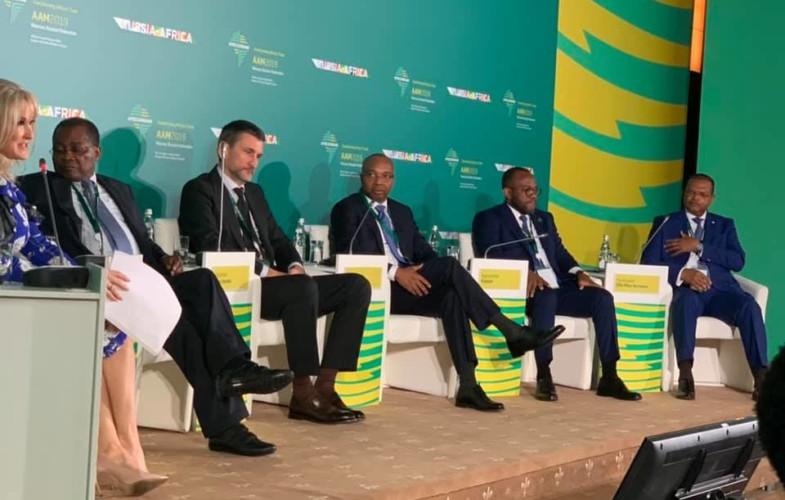 Le président de la BDEAC présente les atouts de l'Afrique centrale aux investisseurs Russes