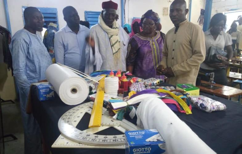 Tchad : les femmes de l'association Alwhida bénéficient d'une formation chez J-Rabel