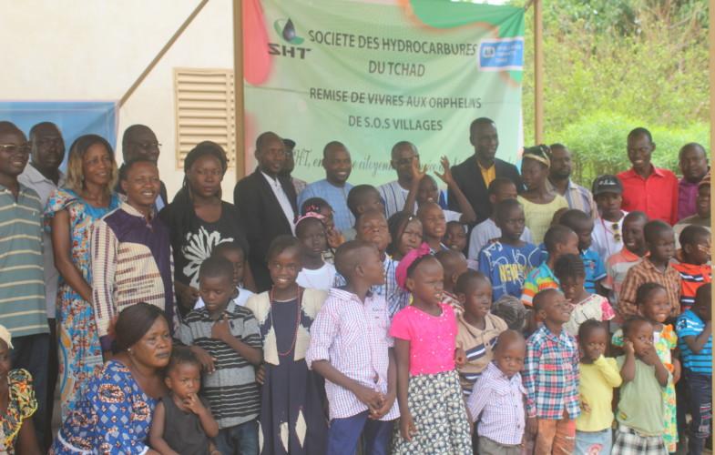 Tchad : la SHT vole au secours des orphelinats Béthanie, SOS village et Dieu Bénit