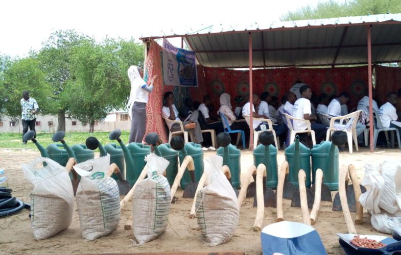 Tchad : 50 jeunes sans emploi et étudiants formés en agro-business