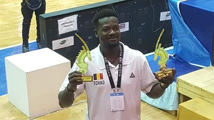 IYALAT : Michaël Koibé doublement primé à l'afro basket 2019