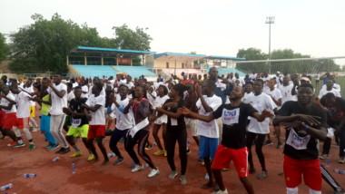 Les N'Djaménois se mettent au jogging