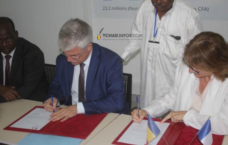 Lutte contre la malnutrition : la France appuie le Pam Tchad avec 500 000 euros