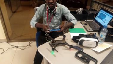 Iyalat : un jeune fabrique des drones pour les secteurs agricole, sécuritaire et foncier
