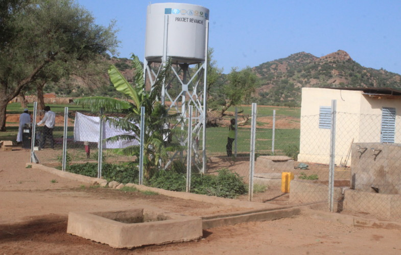 Tchad : le projet REVANCHE offre un château d'eau au village Saraf Ousba